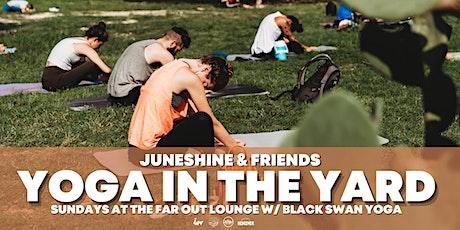 Yoga in the Yard with Black Swan Yoga & JuneShine Kombucha tickets