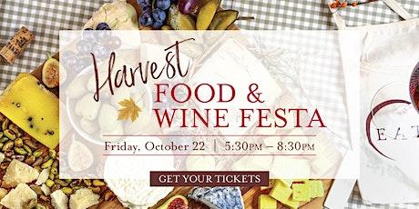 Harvest Food & Wine Festa tickets