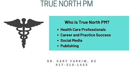 Who is True North PM? How do we help Health Professionals? tickets