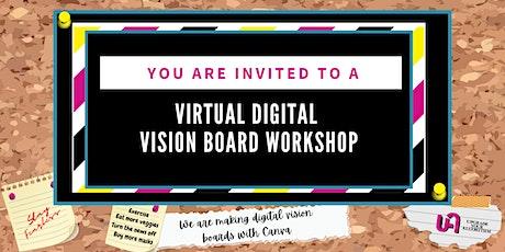 Virtual Digital Vision Board Workshop tickets