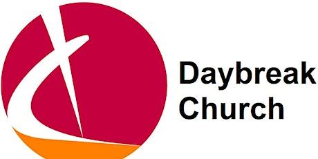 Daybreak Venue Pre-Registration (New Covid Measures) tickets