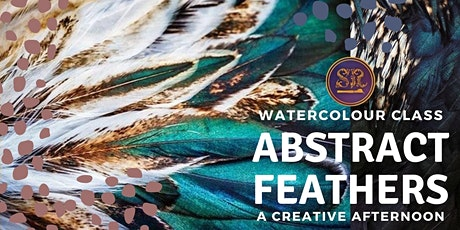 Abstract Feathers Painting tickets