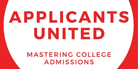 Applicants United Informational Meeting 9/24/2021 tickets
