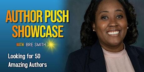 AuthorPush Showcase and Magazine Advertisement tickets