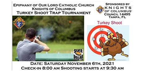 Epiphany KofC Turkey Shoot Trap Tournament to help feed the hungry tickets