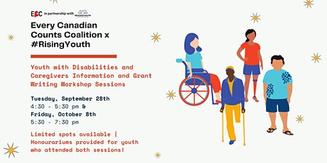 Every Canadian Counts Coalition x #RisingYouth Youth & Caregiver Workshop tickets