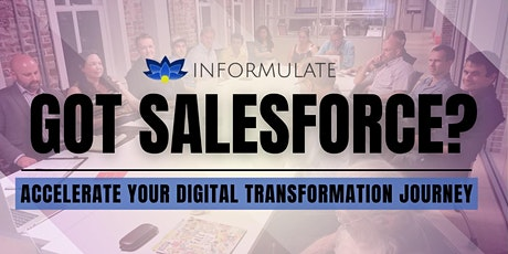 Got Salesforce? Use it to accelerate your Digital Transformation  journey tickets