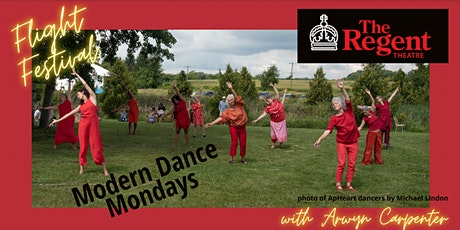 Modern Dance Mondays on stage at The Regent tickets