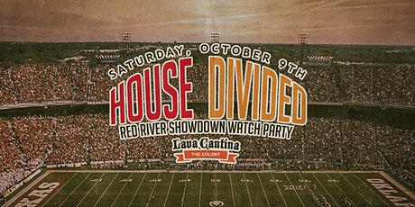 House Divided Party - Red River Showdown: OU vs Texas [Limited Seating] tickets