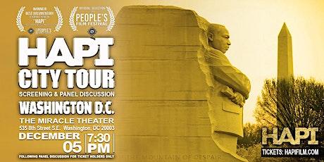 HAPI CITY TOUR -  Screening & Panel Discussion - Washington DC tickets