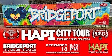HAPI CITY TOUR -  Screening & Panel Discussion - BRIDGEPORT tickets