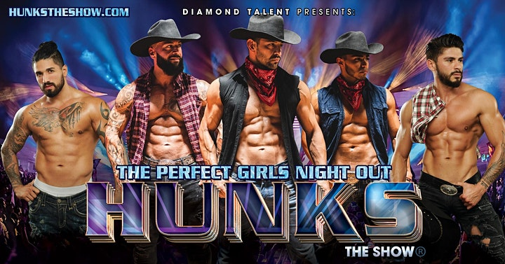 HUNKS The Show: All Male Revue image