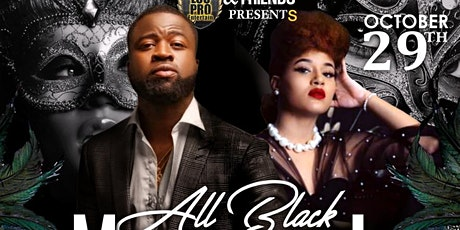 ALL BLACK MASQUERADE PARTY tickets