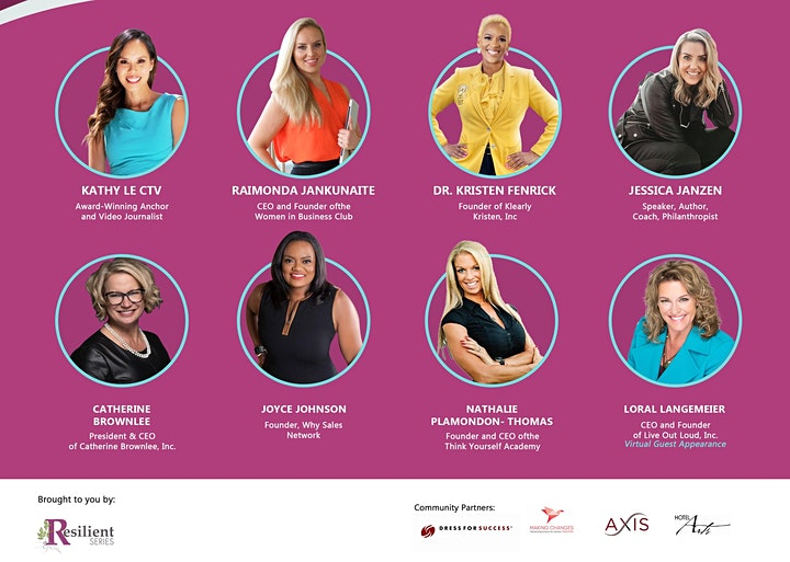 Resilient Women in Business image