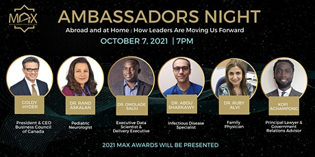 Ambassadors Night | Abroad and at Home: How Leaders are Moving us Forward tickets