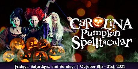 Carolina Pumpkin Spelltacular tickets