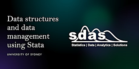 Data structures and data management using Stata - The University of Sydney tickets