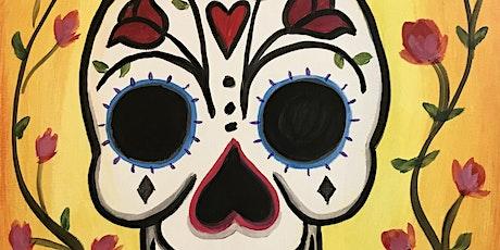 """Painting & Vino - """"Sugar Skull"""" tickets"""
