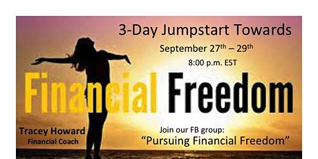 3-Day Jumpstart Towards Financial Freedom tickets