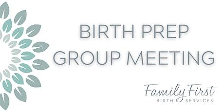 Birth Prep Meeting tickets