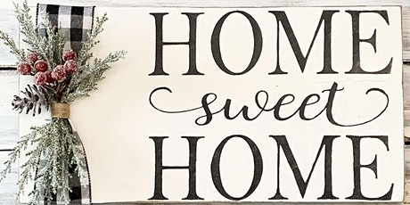 Rustic Home Sign tickets