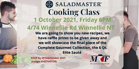 Saladmaster Cooking Class tickets