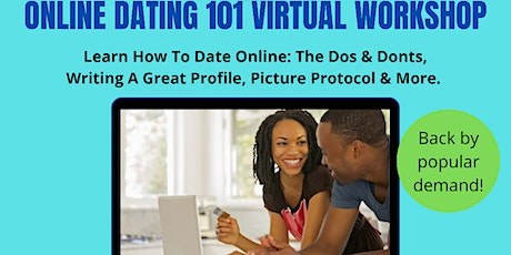 Online Dating 101 Workshop:Thinking About Dating Online?(Virtual Event) tickets