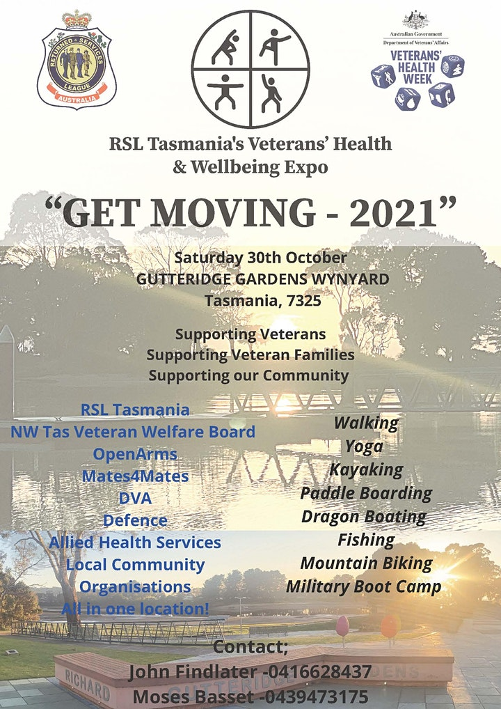 Veterans Health and Wellbeing Expo - North West Coast image