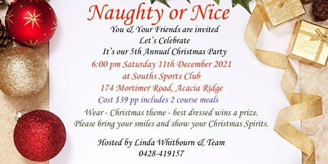 'You're Invited' - 5th Annual Christmas Party tickets