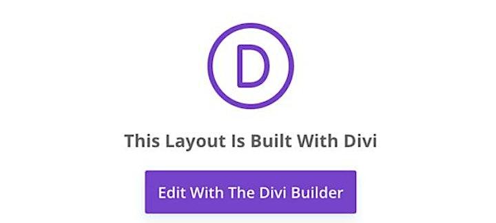 Divi WordPress Editing website live Q & A image