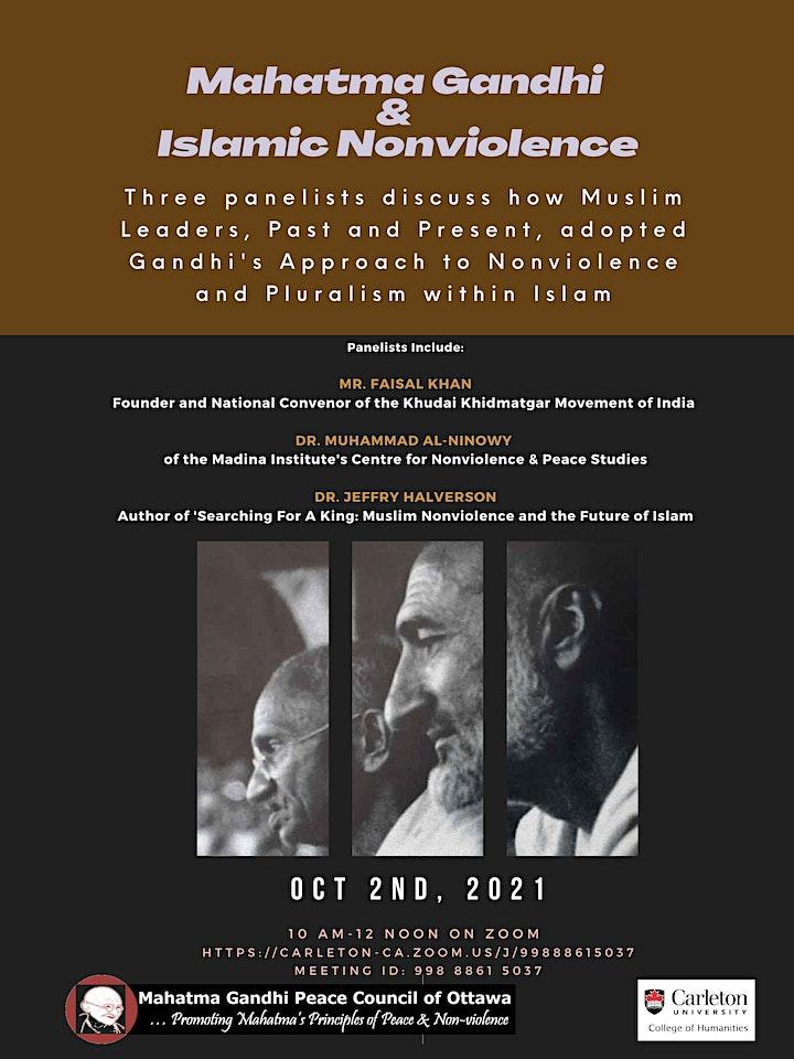 Mahatma Gandhi and Islamic Nonviolence image