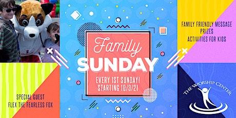 Family Sunday tickets