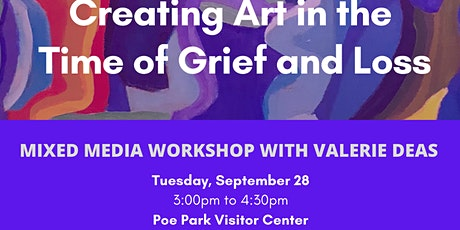 Mixed Media Workshop: Creating Art in the Time  of Grief and Loss tickets
