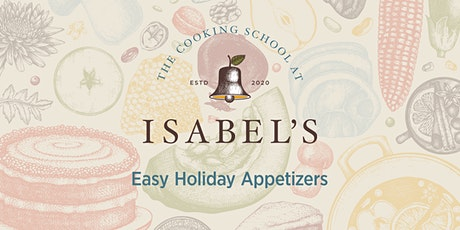Cooking Classes with Sue Chef: Easy Holiday Appetizers tickets