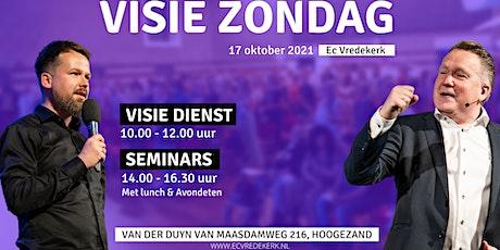 Seminars visie zondag 17 oktober 12.00 uur tickets