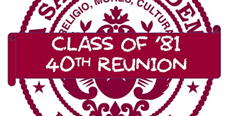 La Salle Class of '81 - 40th Reunion Dinner tickets