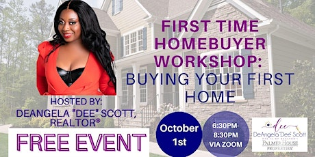 FREE HOMEBUYER WORKSHOP: Ready to buy your first home? *A VIRTUAL EVENT* tickets