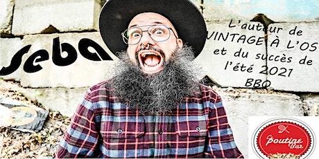 SEBA RAPPEUR QUÉBECOIS (GRATUIT) tickets