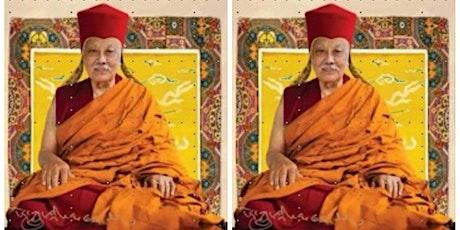 19 Oct 21  9.30am Guru Anniversary & B/day of HE Luding Khenchen Rinpoche tickets