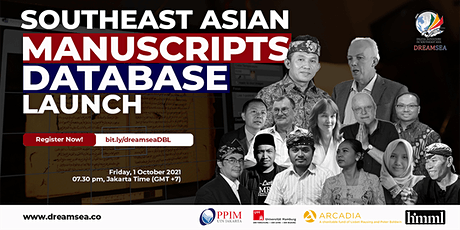 Southeast Asian Manuscripts Database Launch tickets