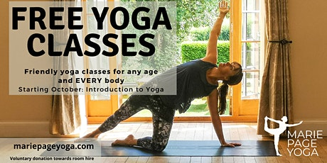 Introduction to Yoga (free class) tickets