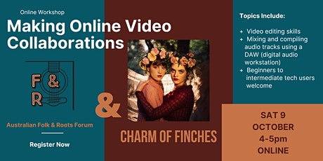 Creating Online Collaboration Videos (Music) tickets