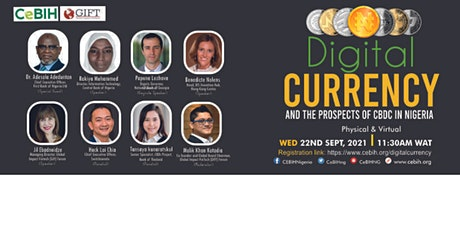 Digital Currency & The Prospect of CBDC in Nigeria tickets
