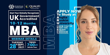 WES  canada Approved UK Universities MBA - FREE online  Webinar tickets