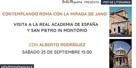 Visita literaria a la Real Academia de España en Roma biglietti