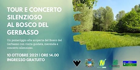 Tour Guidato e Concerto Silenzioso al Bosco del Gerbasso biglietti