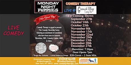 Monday Night Funnies @ Greenwich Village Comedy Club - Nov 22nd tickets
