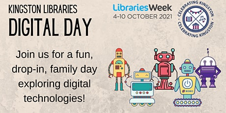 Kingston Libraries Digital Day! tickets