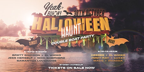 Yeah Buoy - Halloween Haunt - Double Boat Party tickets