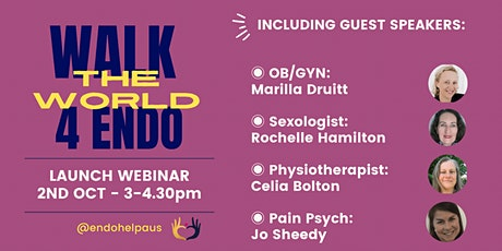 Walk the World 4 Endo Launch - Webinar tickets